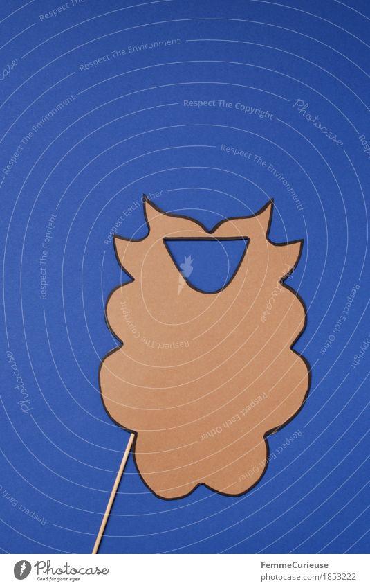 Rauschebart_1853222 Haare & Frisuren Bart Vollbart Behaarung Zeichen ästhetisch maskulin Barthaare aufgespiesst Holz Karneval Party verkleiden Freude lustig