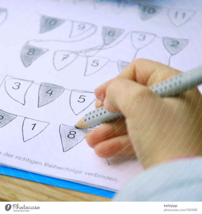 das achte weltwunder Mensch Kind Hand Mädchen Schule Kindheit Schriftzeichen Finger lernen Ziffern & Zahlen Bildung schreien Schüler 8 Kindererziehung verbinden