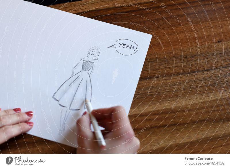 **1000 Fotos** Mensch Frau Jugendliche Junge Frau weiß Hand Freude 18-30 Jahre Erwachsene feminin Holz Glück Mode Design Kreativität Erfolg