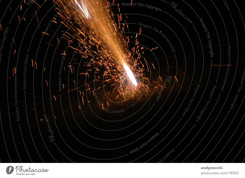 Sprudel Brand heiß Dinge Feuerwerk Flamme Vulkan Funken
