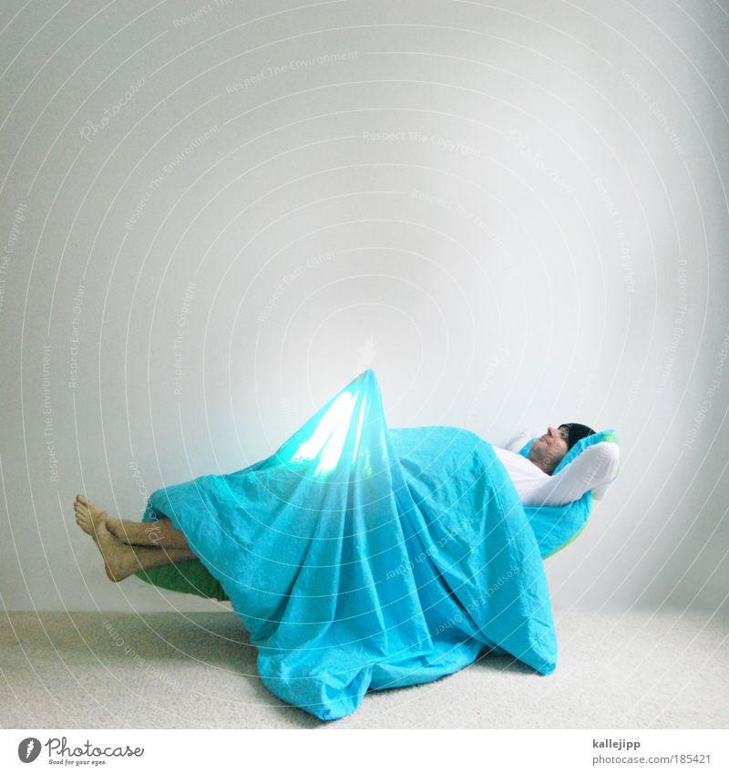 2700_träumchen Mensch Mann Erwachsene Erotik Lampe träumen liegen Sex Wohnung maskulin verrückt leuchten schlafen Häusliches Leben Bett Spitze