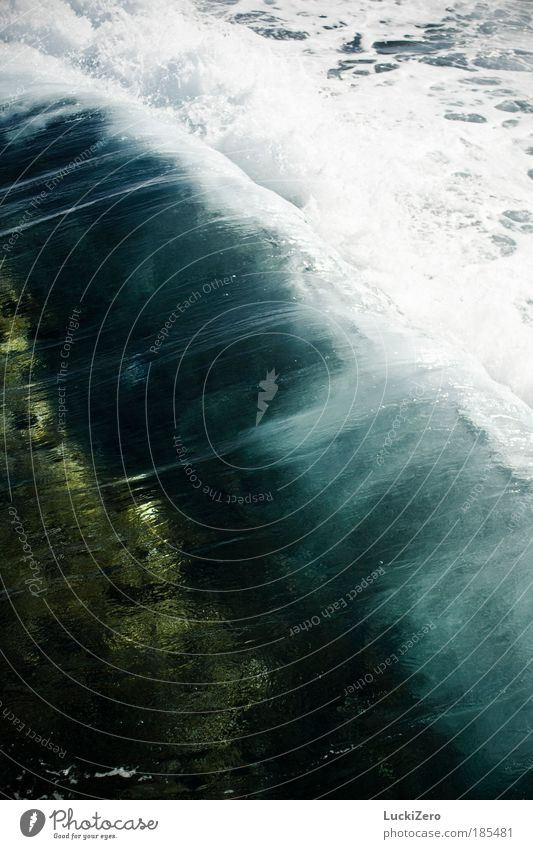 Sprudelwasser Natur blau Wasser Ferien & Urlaub & Reisen Sonne Meer Sommer Strand Küste Wellen Wind Insel Wassertropfen Urelemente Schifffahrt Segeln