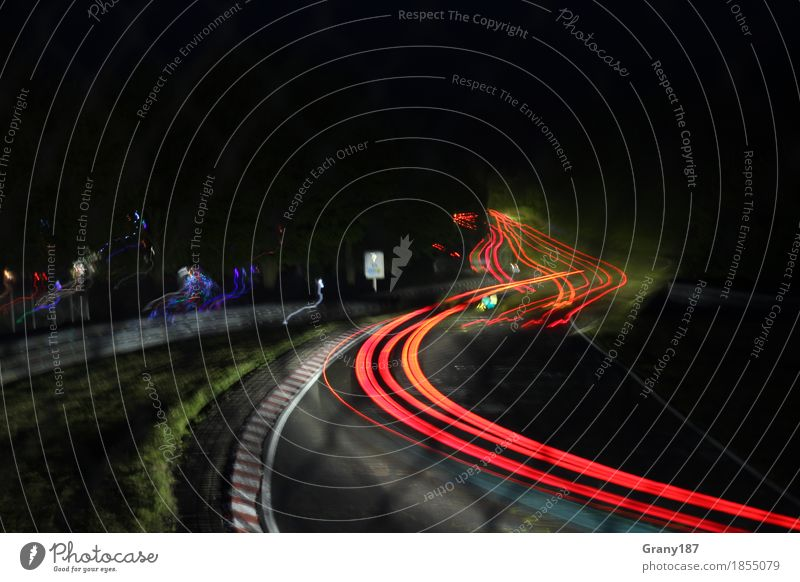 Nordschleife at Night Sommer rot Freude schwarz Lifestyle Glück Freiheit Freizeit & Hobby Zufriedenheit wandern Lebensfreude Abenteuer fantastisch Energie