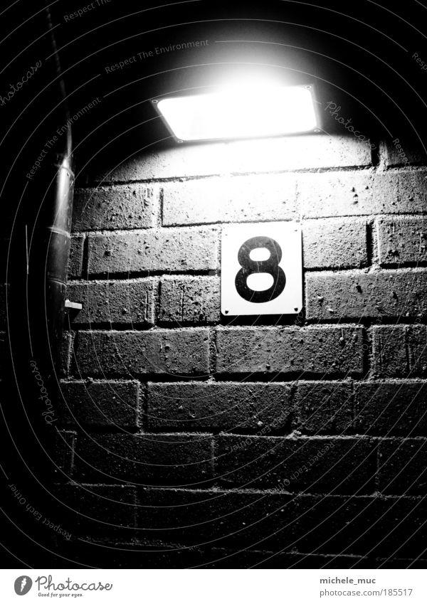 Entrance #8 Ferien & Urlaub & Reisen weiß Haus schwarz kalt Wand Gebäude Mauer Stein Lampe Fassade Tür Europa Bauwerk Stahl Hafenstadt