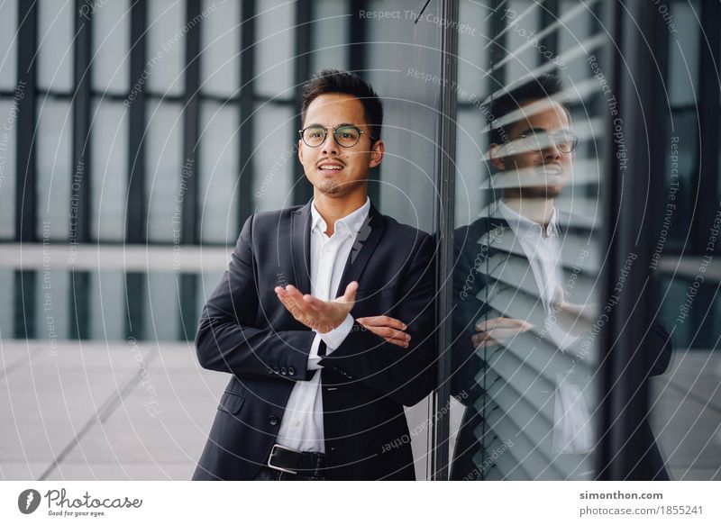 Gespräch elegant Stil Berufsausbildung Azubi Praktikum Studium lernen Student Arbeit & Erwerbstätigkeit Büroarbeit Arbeitsplatz Business Unternehmen Karriere
