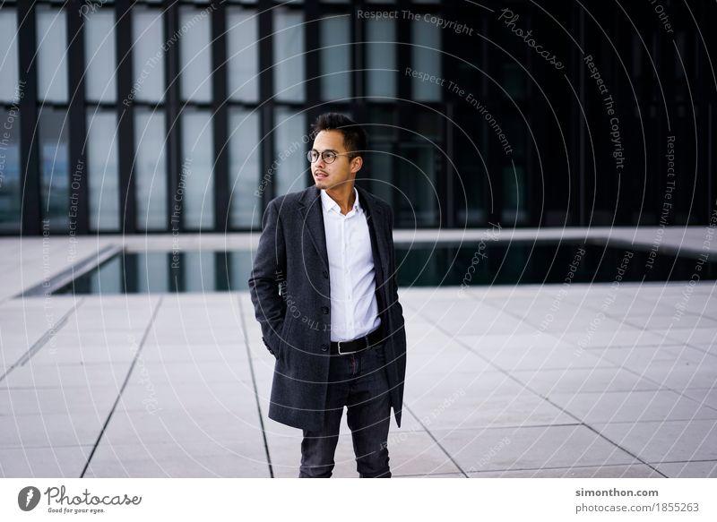 Business Mensch Jugendliche Mann Junger Mann Erwachsene Lifestyle Stil Arbeit & Erwerbstätigkeit maskulin Büro elegant Erfolg Zukunft lernen kaufen
