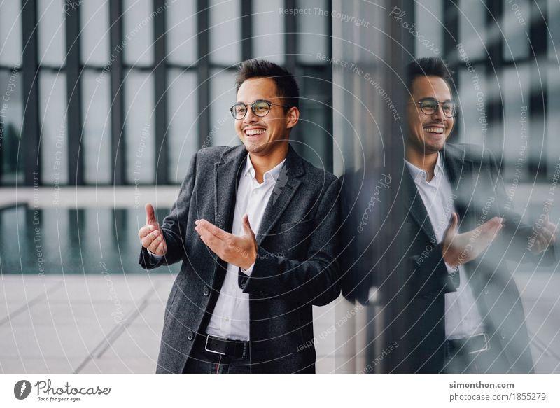 Business Lifestyle Reichtum elegant Stil Freude Glück Berufsausbildung Azubi Praktikum Arbeitsplatz Büro Werbebranche Kapitalwirtschaft Unternehmen Karriere