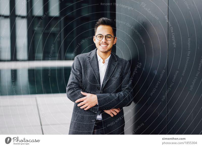 Business Berufsausbildung Azubi Praktikum Arbeit & Erwerbstätigkeit Unternehmen Karriere Erfolg maskulin 1 Mensch Beginn Glück Identität einzigartig kaufen