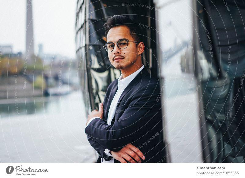 Business Lifestyle elegant Stil Berufsausbildung Azubi Praktikum Mittelstand Unternehmen Karriere Erfolg Sitzung maskulin 1 Mensch Senior Beginn Beratung