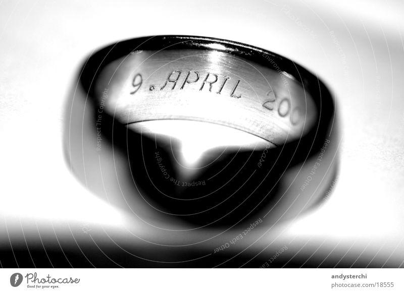 Love Schmuck glänzend Ehe Jahr Jahrestag Liebe Ring silber Koloss krazfest verlobt 9. april 2001 Ziffern & Zahlen Verbindung gravur Termin & Datum