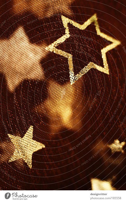 Sterntaler einrichten Dekoration & Verzierung Weihnachtsdekoration Weihnachtsstern Nachthimmel Zeichen Ornament eckig Fröhlichkeit schön Kitsch Wärme weich