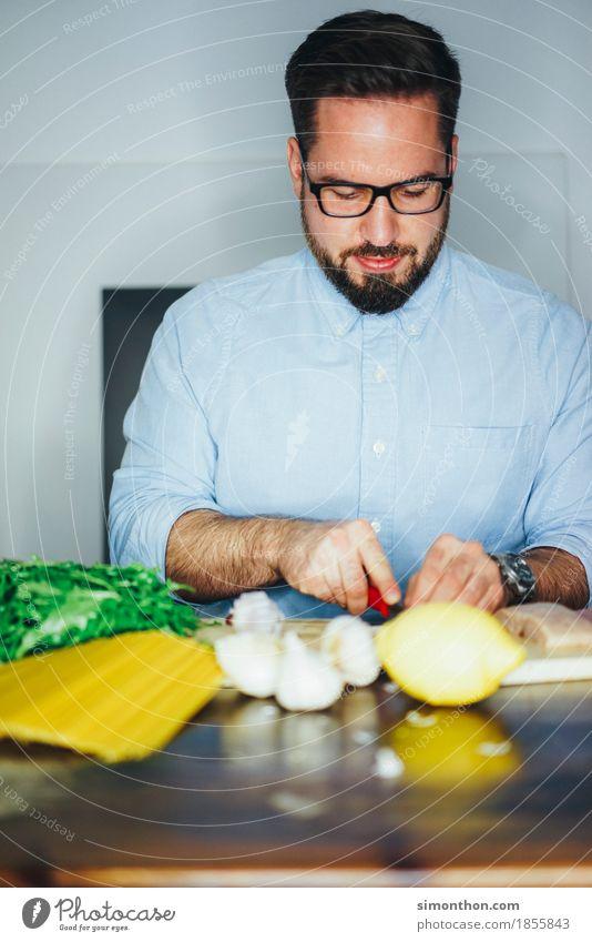 Kochen Mensch Gesunde Ernährung Erholung Freude Leben Lifestyle Gesundheit feminin Lebensmittel Zeit Wohnung Häusliches Leben Zufriedenheit genießen Idee