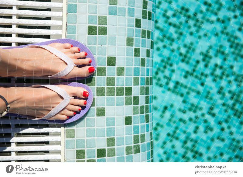Nichtschwimmerin harmonisch Wohlgefühl Zufriedenheit Sinnesorgane Erholung ruhig Spa Schwimmbad Whirlpool Schwimmen & Baden Freizeit & Hobby
