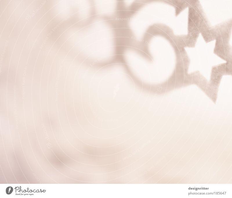 Im Himmel ist Jahrmarkt Dekoration & Verzierung Weihnachtsdekoration Stern (Symbol) Muster Wolken Watte Zeichen Ornament Feste & Feiern Fröhlichkeit schön