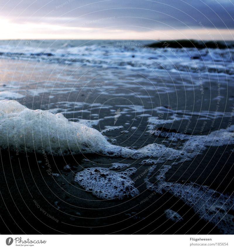Schaumbad in der größten Badewanne Deutschlands Wasser Ferien & Urlaub & Reisen Meer Strand Ferne Freiheit Küste Wellen Kraft glänzend Ausflug Tourismus Erfolg Coolness Nordsee Seeufer