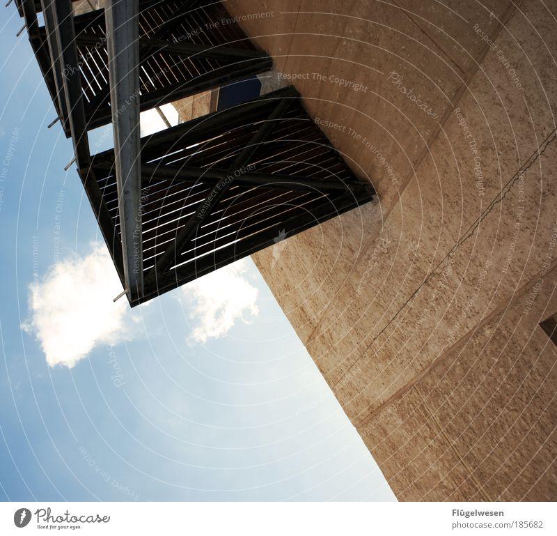 Stufen zum Himmel Wolken Freizeit & Hobby Zusammensein elegant Ausflug Treppe Tourismus Sicherheit einfach leuchten Schutz geheimnisvoll Leidenschaft Leiter