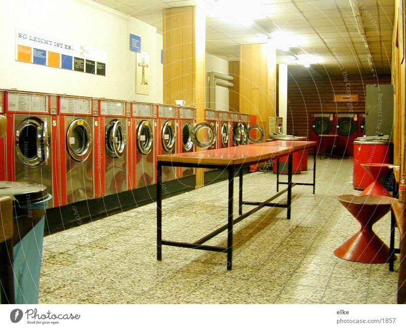 salon Raum Ladengeschäft Dienstleistungsgewerbe Waschmaschine Waschsalon