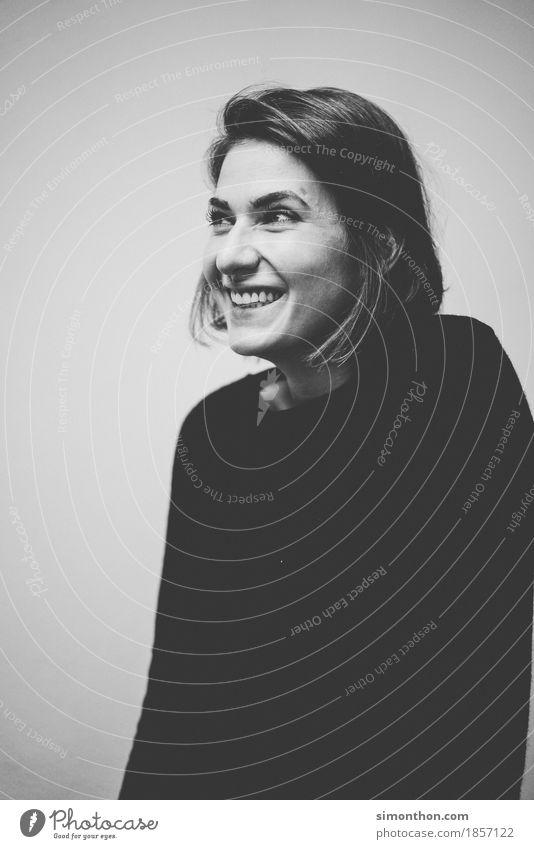 Portrait Mensch schön Erholung Freude Leben Lifestyle Gesundheit feminin Stil Glück Freundschaft Zufriedenheit elegant Kraft Erfolg Fröhlichkeit