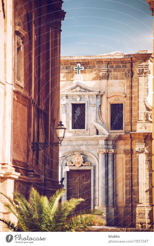 City view detail of Palermo city, Sicily, Italy - ein lizenzfreies ...