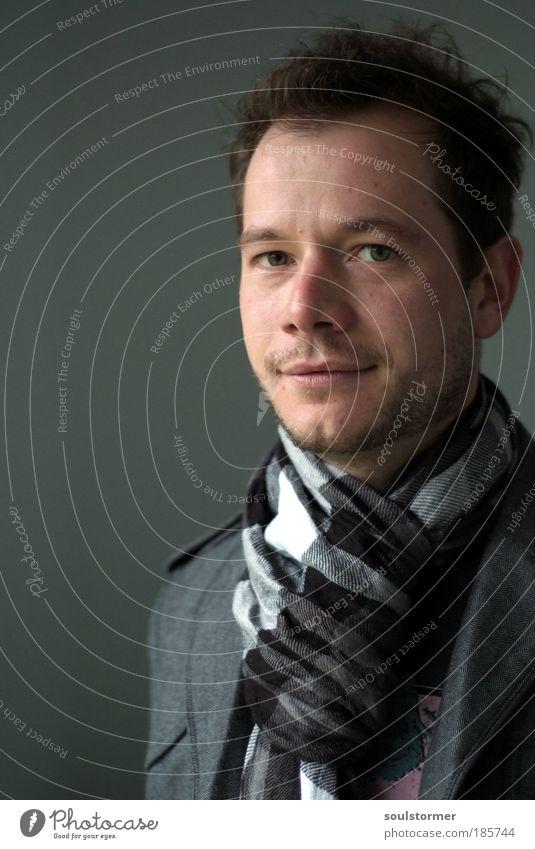 Jubiläum - zum 300. ein Dankeschön... Mann Porträt alt Gesicht Erwachsene Auge Haare & Frisuren grau Stil Kopf Kunst maskulin elegant Zufriedenheit Mensch