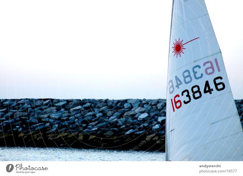 Windsegeln Wasser Meer Stein See Luft Wasserfahrzeug Felsen Ziffern & Zahlen Schifffahrt Segel Korallen Buhne