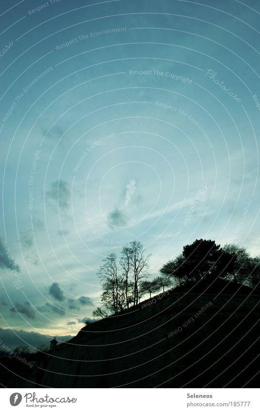 Eckstein Natur Himmel Baum Pflanze Wolken dunkel Herbst träumen Park Luft hell Umwelt frei Horizont ästhetisch Klima