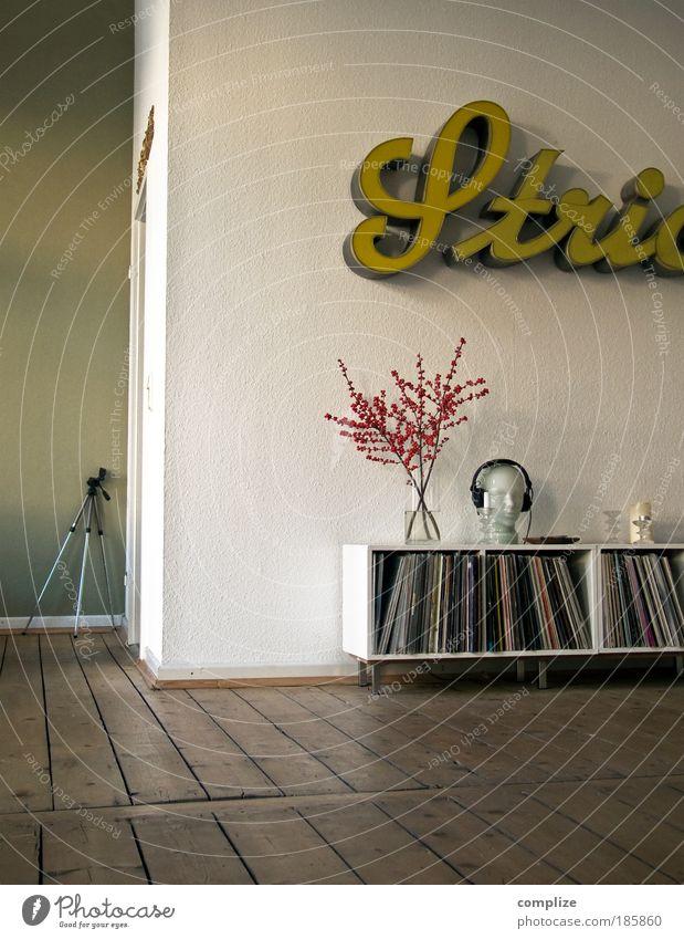 Stativ Häusliches Leben einrichten Innenarchitektur Dekoration & Verzierung Raum Wohnzimmer Diskjockey Fotokamera Technik & Technologie Musik Musik hören