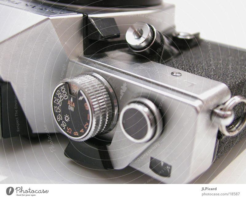 Analog alt Fotokamera analog Entertainment Auslöser