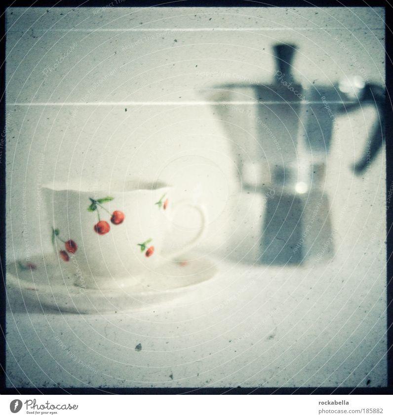 Tasse mit Mokkakanne Getränk trinken Kaffee Latte Macchiato Espresso Lifestyle elegant Stil Design ästhetisch modern schön Lebensfreude Erholung nachhaltig