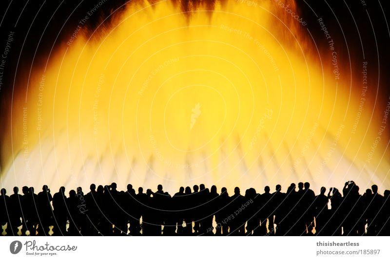 Font Magica Ferien & Urlaub & Reisen Tourismus Ausflug Sightseeing Städtereise Mensch Leben Menschengruppe Menschenmenge Kunst Kunstwerk Skulptur Lichtspiel