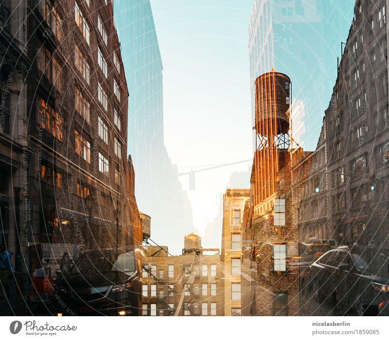 NYC (2) Lifestyle Reichtum Stil exotisch Freude Freizeit & Hobby Ferien & Urlaub & Reisen Tourismus Ausflug Abenteuer Ferne Häusliches Leben Stadt Skyline