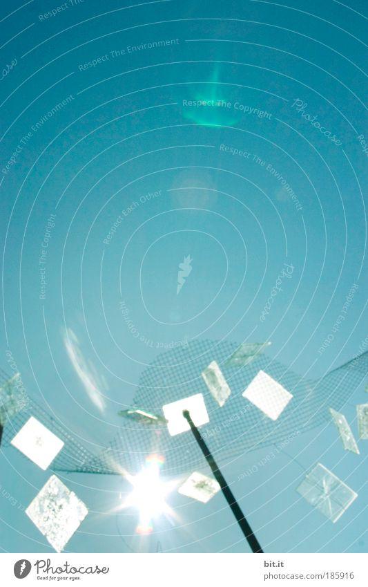 """""""HAPPY BIRTHDAY, PHOTOCASE!"""" Himmel blau Sommer Bewegung Kunst glänzend Umwelt Energie Energiewirtschaft modern Zukunft Klima abstrakt Dinge leuchten"""