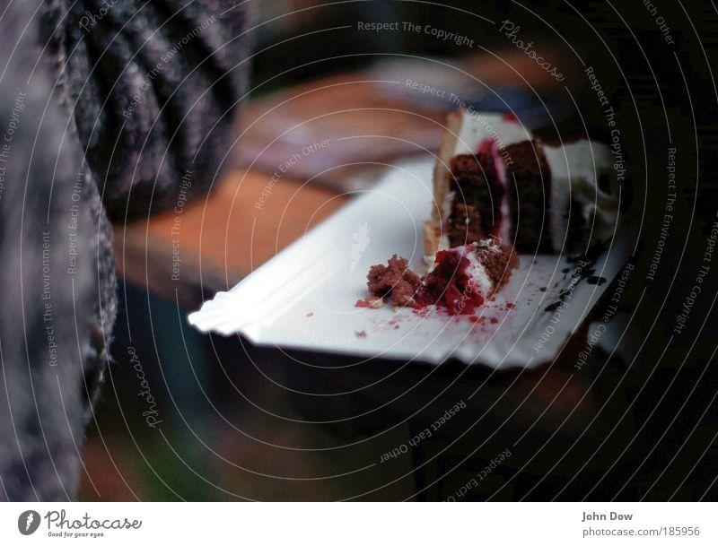 Happy Birthday Photocase *** Ernährung Appetit & Hunger Bank lecker Kuchen Mantel Torte Sahne Krümel Kalorie Bierbank Kaffeetrinken Schwarzwälder Kirsch