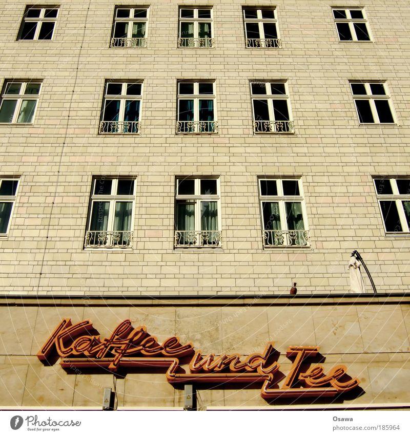 Happy Birthday Photocase Berlin Fenster Gebäude Architektur Wohnung Fassade Getränk Schriftzeichen Tee Werbung Fliesen u. Kacheln Ladengeschäft Quadrat Handel