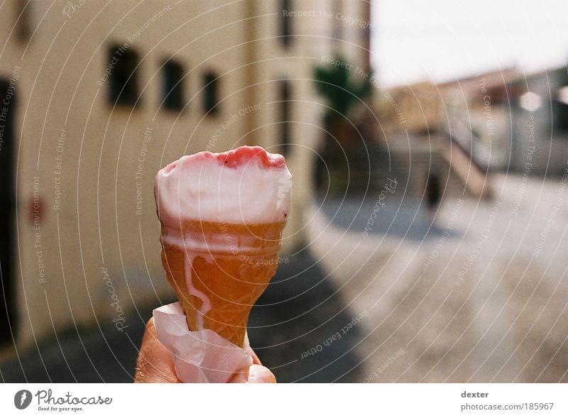 Happy Birthday, Fotografen! Speiseeis Süßwaren Wohlgefühl Sommer Sommerurlaub Sonne lecker Farbfoto Außenaufnahme Schwache Tiefenschärfe Tag