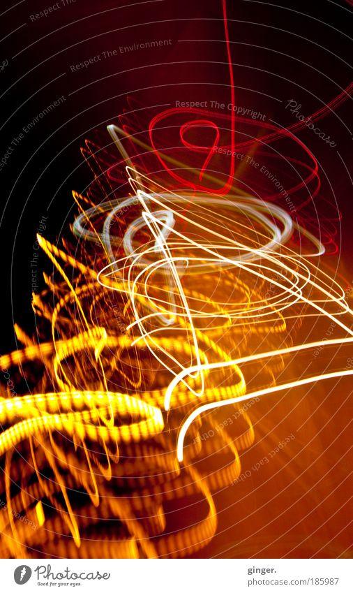 :: Happy Birthday Photocase :: weiß rot gelb Verkehr verrückt Warmherzigkeit beobachten malen Bewegungsunschärfe Tunnel Fahrzeug Autofahren Straßenverkehr