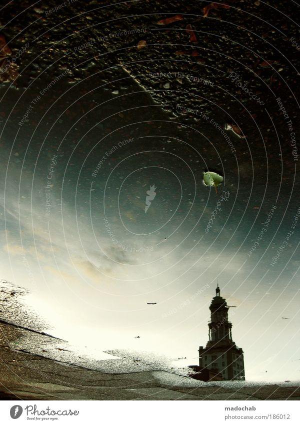 - - - - - - - - - - - - - - - E X I T - - - - - Einsamkeit Umwelt Berlin Architektur Religion & Glaube Gebäude Regen Kraft Deutschland Low Key Klima Silhouette Licht Kirche Turm