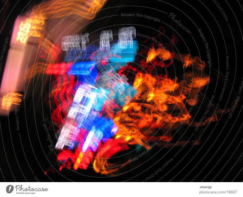 Liquid Radio drehen durcheinander Armaturenbrett