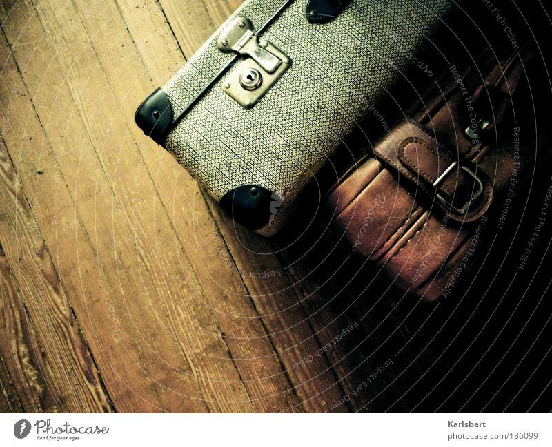 ich packe meine koffer und nehme ... Ferien & Urlaub & Reisen Sommer Ferne Stil Spielen Holz Freiheit Lifestyle Wohnung Design Raum Tourismus Häusliches Leben