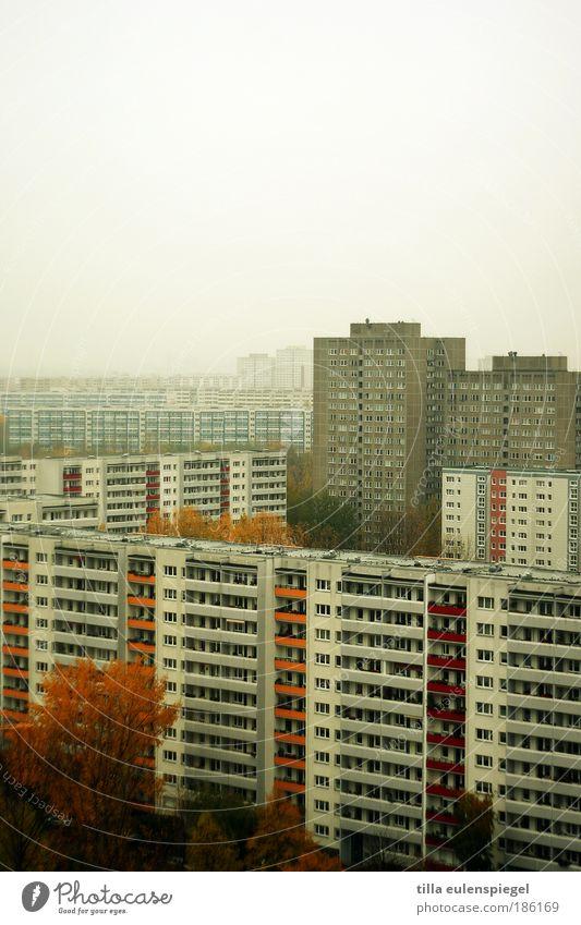 winter ahoi Städtereise Winter Hauptstadt Stadtrand Haus Hochhaus Gebäude Fassade Beton authentisch bedrohlich dunkel eckig hässlich kalt trist grau Einsamkeit