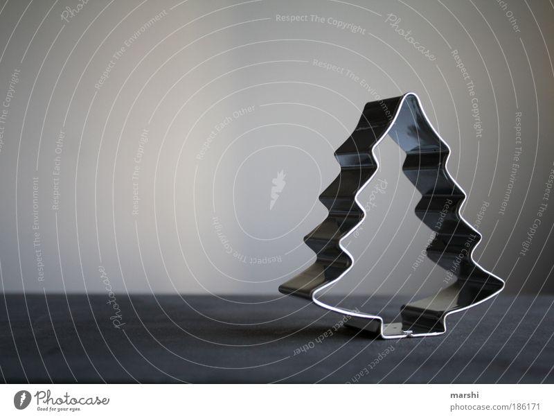 oh Tannenbaum... Freizeit & Hobby grau silber Weihnachtsbaum Weihnachten & Advent Strukturen & Formen Plätzchen glänzend glanzvoll Dekoration & Verzierung