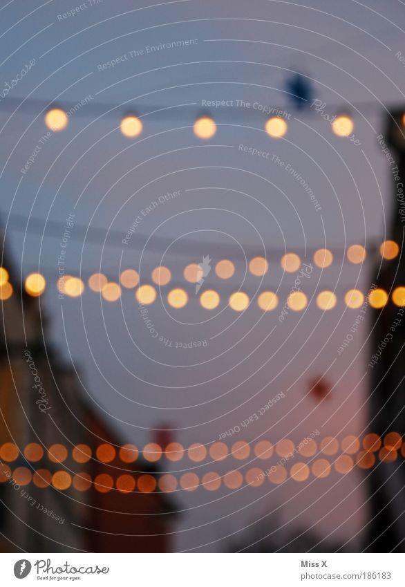 Weihnachtsmarkt Kempten im Allgäu Weihnachten & Advent schön Stadt Haus hell Stimmung Feste & Feiern Stern glänzend Ausflug Fröhlichkeit Tourismus Kitsch Dekoration & Verzierung