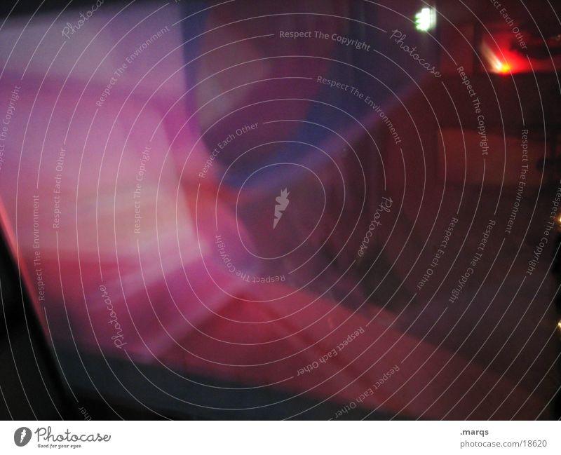 Schleier Gedeckte Farben abstrakt Lichterscheinung Lifestyle exotisch dunkel rot skurril Vorhang Fototechnik