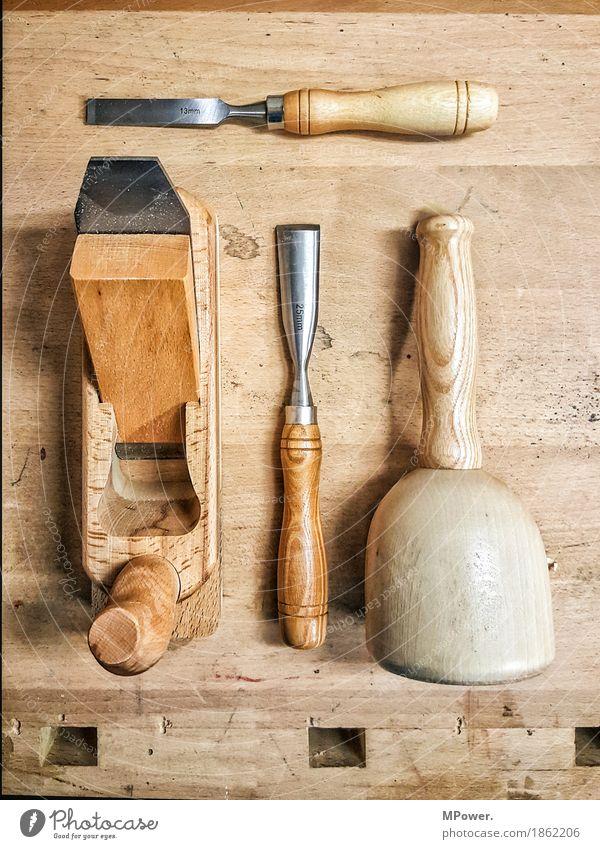 schreinerwerkzeug Hammer Technik & Technologie Arbeit & Erwerbstätigkeit Holz Hobel Hobelbank Schreinerei Werkstatt Handarbeit Zimmerer Stecheisen Handwerker