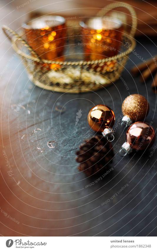 AKCGDR# Die Geschichte vom Goldenen Körbchen Kunst ästhetisch Weihnachten & Advent Weihnachtsdekoration Vorfreude Christbaumkugel Zapfen Körbchengröße Teelicht