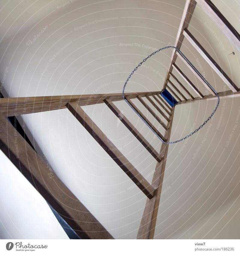 Himmelstürmer Ferne oben Freiheit Holz Stein Linie Raum Wohnung groß Perspektive modern Ordnung ästhetisch authentisch einfach dünn