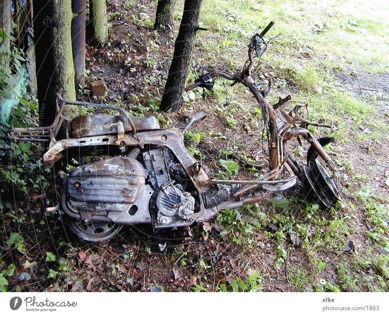 feuerstuhl Motorrad Natur