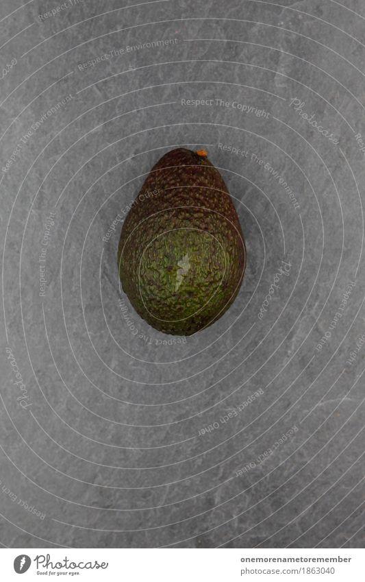 Avocado Kunst Kunstwerk ästhetisch Gemüse Schiefer Foodfotografie Gesunde Ernährung Bioprodukte Farbfoto mehrfarbig Innenaufnahme Studioaufnahme Nahaufnahme