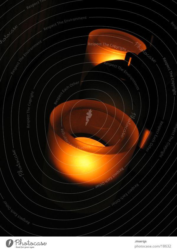 Shiny dunkel Kerze Fototechnik Teelicht
