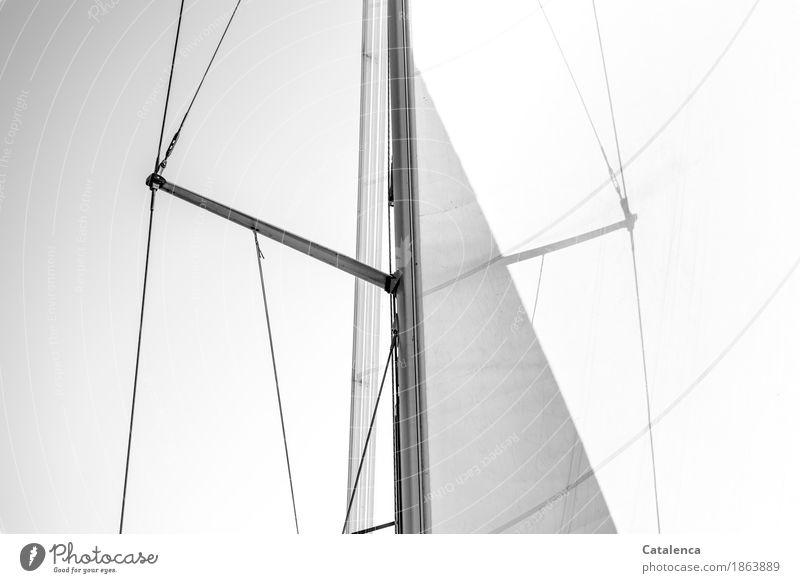 Weißheit   Fahrt ins Weiße Freizeit & Hobby Ferne Freiheit Meer Wellen Segeln Umwelt Wetter Wind Nordsee Jacht Segelboot Bewegung Ferien & Urlaub & Reisen
